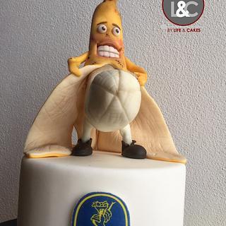 Rocco Banana Hen cake - Cake by Laura