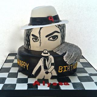 Michael Jackson Cake - Cake by Mimi's Sweet Shoppe Amanda Burgess