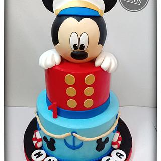 Captain Mickey Mouse cake