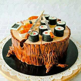 3D Sushi - Cake by TartaSan - Damian Benjamin Button