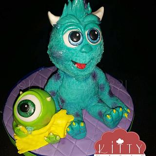 baby monsters  inc - Cake by Crys