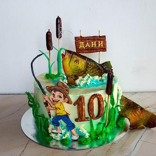 Fishing cake - Cake by TortIva