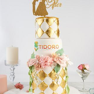 Making Your Cake Glamorous with Edible Gold Leaf