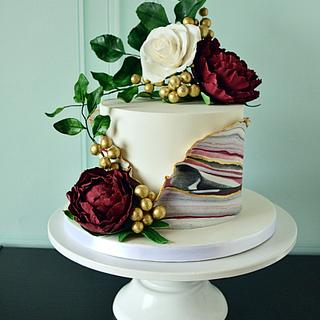 Marble effect cake - Cake by Paula Rebelo