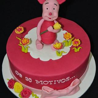 Piglet from Winnie the Pooh