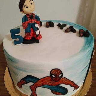 Little spiderman - Cake by Ellyys