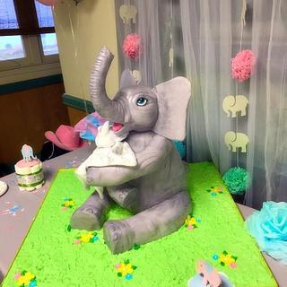 Emma's Elephant - Cake by Simply Sugar Bakery Boutique