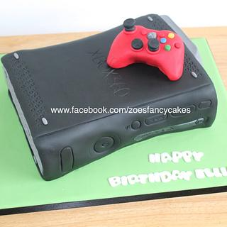 Another X box cake - Cake by Zoe's Fancy Cakes