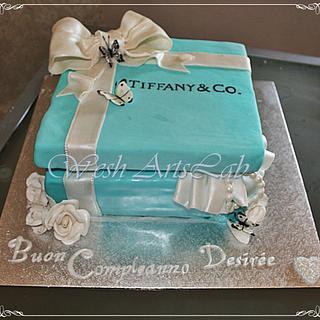 tiffany cake box