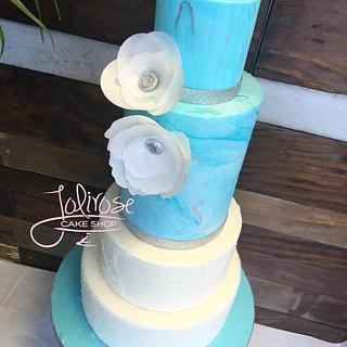 Winter wedding Cake - Cake by Jolirose Cake Shop