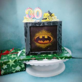 Batman - Cake by Mira's cake