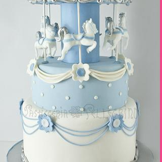 Carousel Dream Cake <3 - Cake by  Viviana Pellegrino