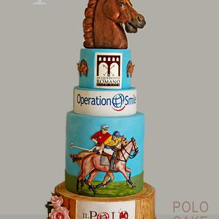 """POLO CAKE"" for The Smile Polo and Operation Smile Onlus"