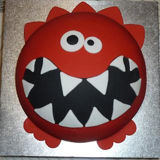 Comic Relief Red Nose Day cake.