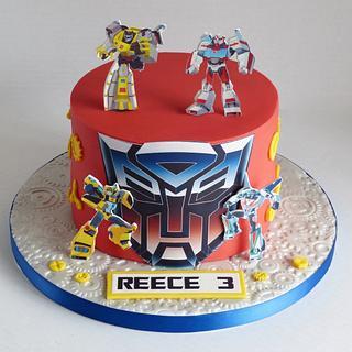 Transformers cake - Cake by Angel Cake Design