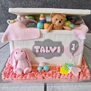 Toy box cake - Cake by claire cowburn