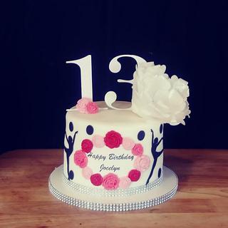 Dream Dancer Cake