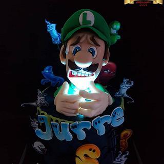 Luigi's Mansion...... - Cake by Claudia Kapers Capri Cakes