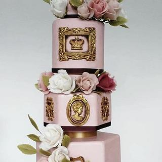 My grandmother's 100th birthday cake