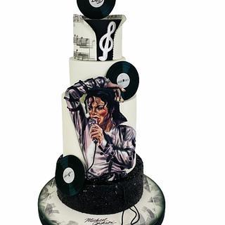 Michael Jackson cake lover
