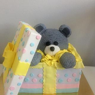 Teddybear - Cake by LanaLand