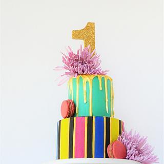 Bold First Birthday