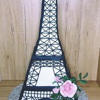The Eiffel tower - Cake by Marianna Jozefikova