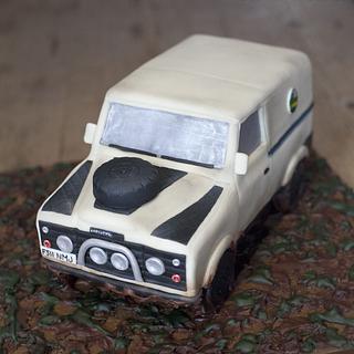 Land rover cake - Cake by Kasserina Cakes