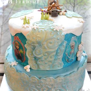 Frozen cake Sven