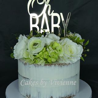 Baby Shower Cake - Cake by Cakes by Vivienne