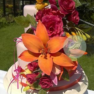 Flowercake!