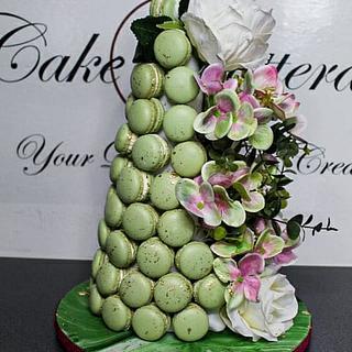 Macaron tower  - Cake by Cake Rotterdam