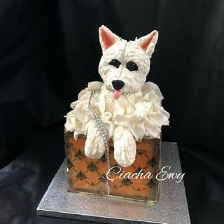 Cake dog  - Cake by Ewa