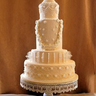 Royal wedding cake -cpc collabration #kissingfrogs