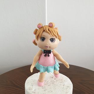 Fondant Lolsurprise doll