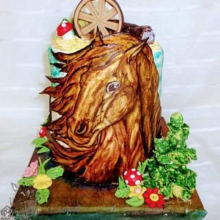 Horse cake 🎂