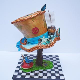 Mad Hatter's Hat  based on Alice's Sea Adventure!