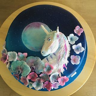 Magical unicorn  - Cake by VVDesserts