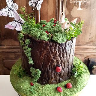 Woodland cake - Cake by Cake Addict