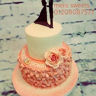 Enagement cake