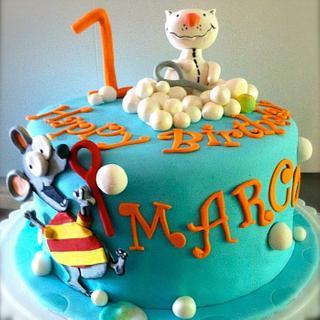 ToOpy BinoOo bubble fun!! - Cake by Gaiti