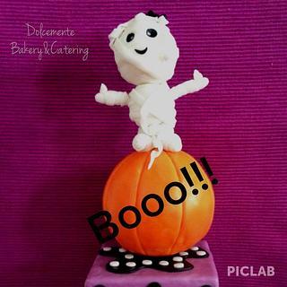 Sweet Halloween Mummy