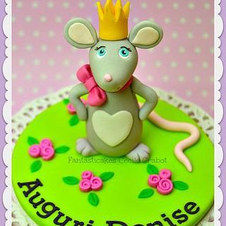 Little Mouse Cake Topper