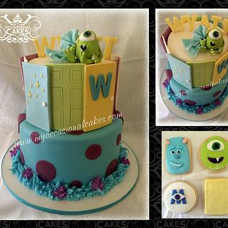 Monsters Baby Shower