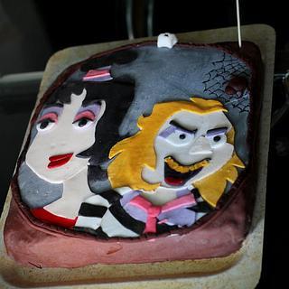 Beetlejuice - Cake by vikios