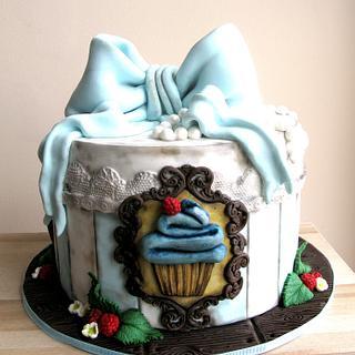 muffin box cake