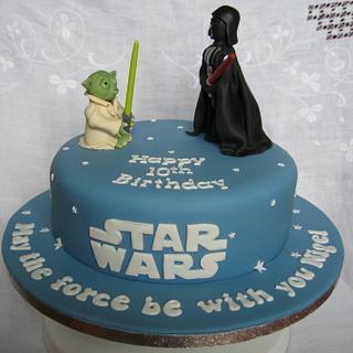 Star Wars Cake - Cake by Deborah Cubbon (the4manxies)