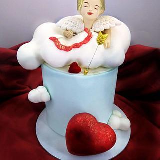 Eros Valentine's Day cake - Cake by Othonas Chatzidakis
