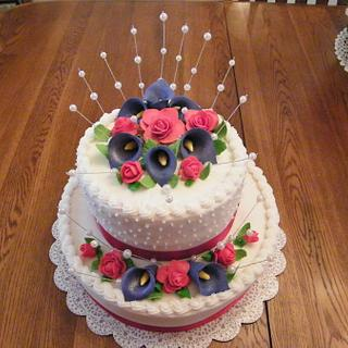 Wedding Shower Cake - Cake by Judy Remaly