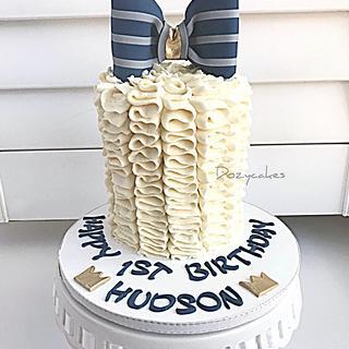 Bow Tie Smash Cake